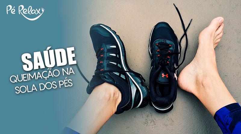 dor muscular e queimação nos pés